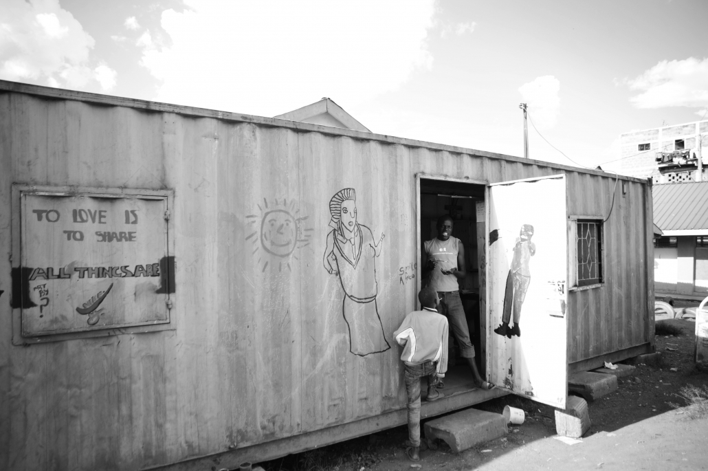 Our container-bib also is a place to interact with each other.